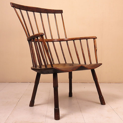 """18th Century Primitive """"Forest"""" Windsor Chair - £8750"""