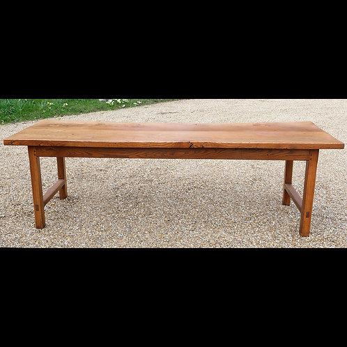 Early 19th Century Elm Farmhouse Table - SOLD