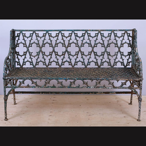 Mid-19th Century Val D'Osne Gothic Revival Cast Iron Garden Bench - £4250