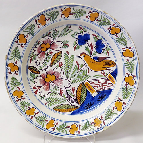18th Century Dutch Delft Plate - £575