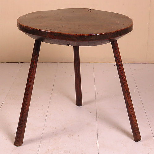 18th Century Burr Ash Dairy Table -SOLD
