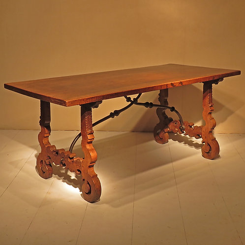 18th Century Spanish Walnut Table - SOLD