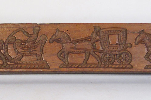 A Mid 19th Century Dutch Gingerbread Mould - £595
