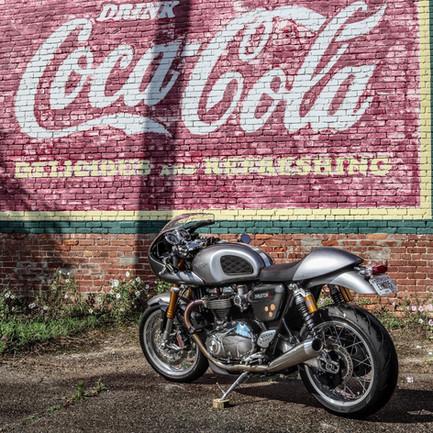 Coca Cola Triumph Thruxton 1200R Cafe Racer