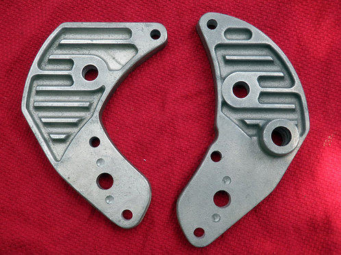 Triumph Finned Engine Mount Plates