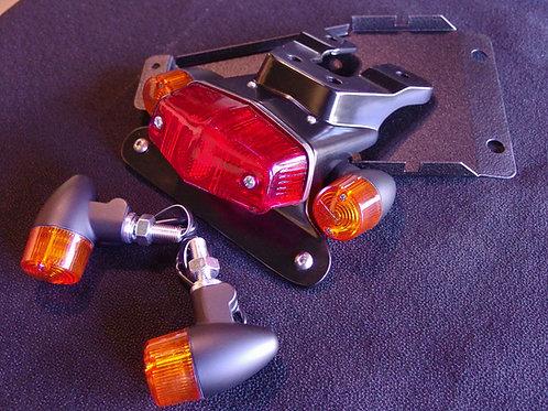 Triumph Thruxton 1200R 1200 LED Fender Eliminator Kit Matte Black