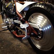 Quadrant Skeleton license plate lamp bracket Yamaha XS 650 Honda Chopper