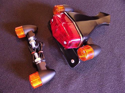 Maund Speed Modern Classic Thruxton 1200/1200R black Tail light Turn Signal Kit