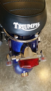 Bonneville Thruxton Scrambler 900 custom Tail light polished