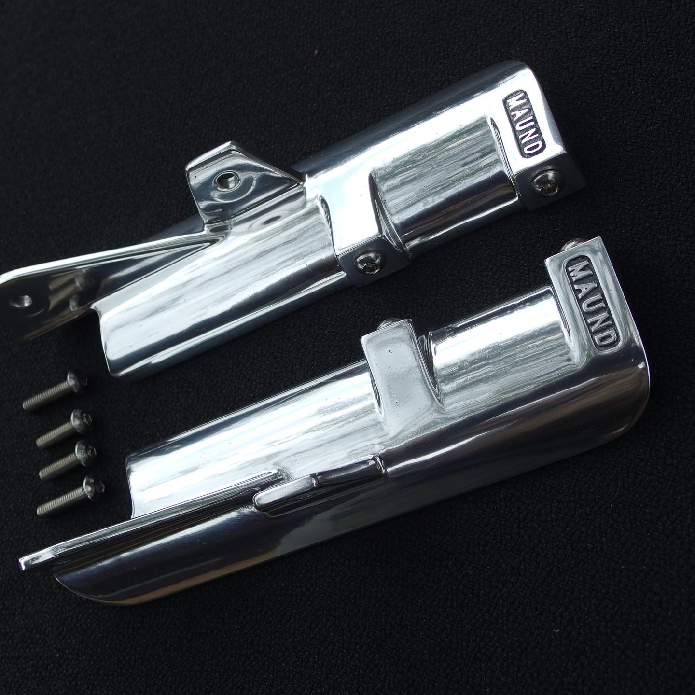 Thruxton R/ Rs fork shrouds polished