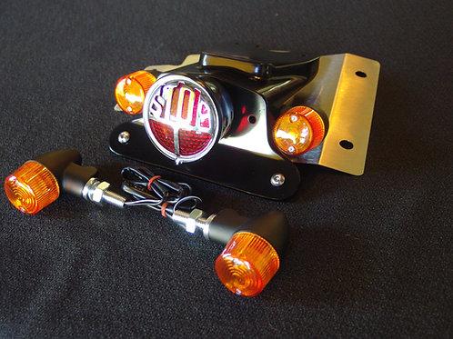 Street Scrambler Fender Eliminator Miller stop tail light front / rear signals
