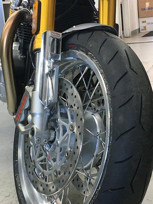 Thruxton R/RS custom Aluminum front fender