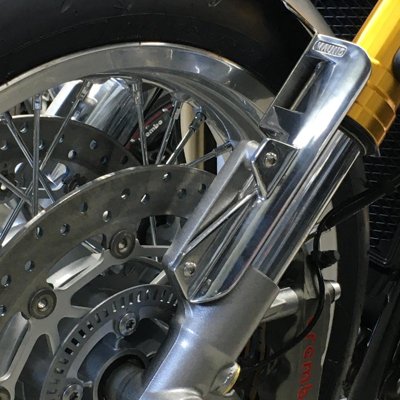 Showa inverted fork shroud Thruxton R RS