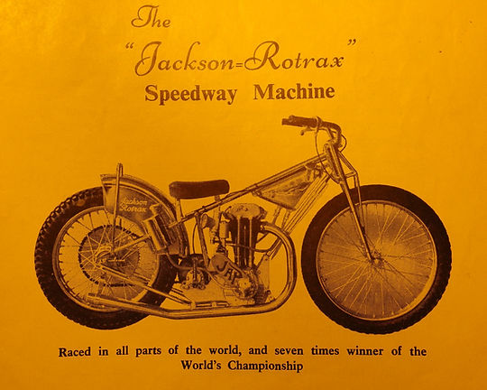 Rotrax speedway motorcycle