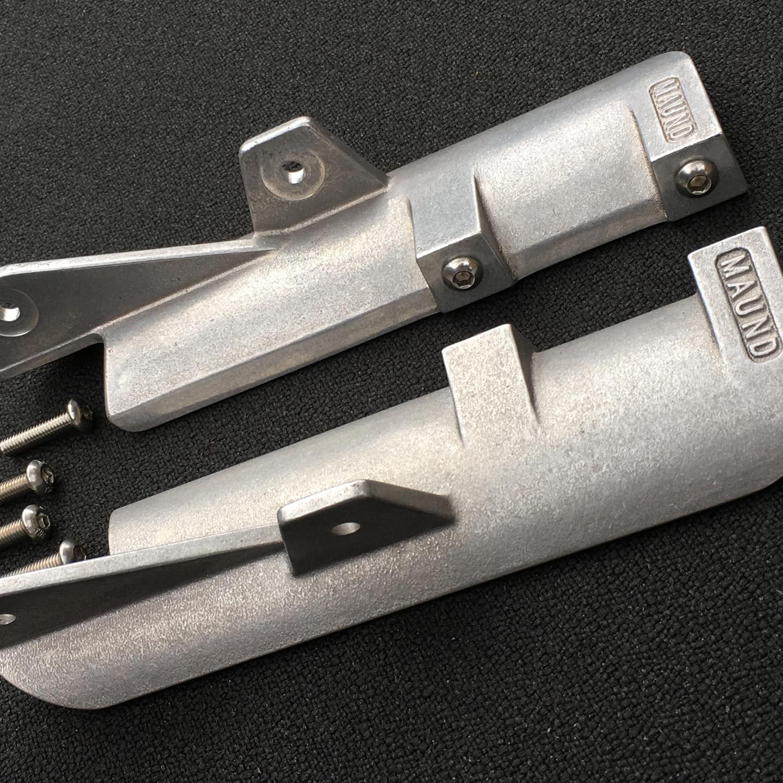 Thruxton R showa fork shrouds
