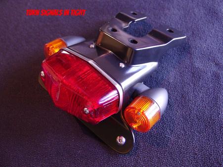 Maund speed equipment fender eliminator for Thruxton 1200