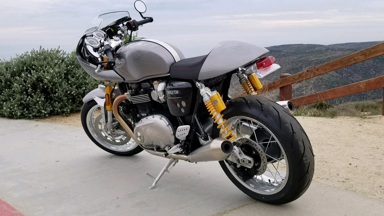 Dans Triumph Thruxton1200R