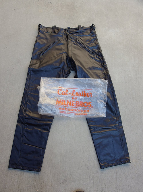 Cal Leather motorcycle pants