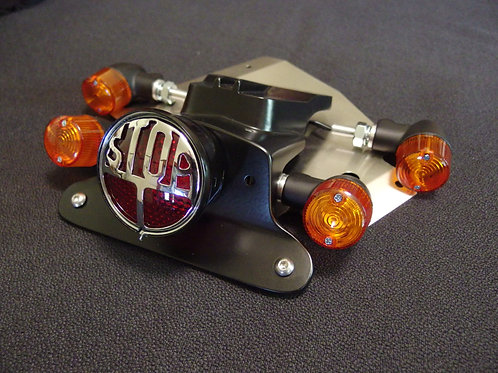 Bonneville t100 t120  fender eliminator Miller LED Stop Light