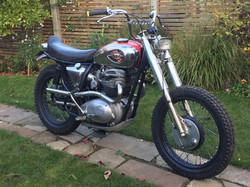 BSA A65 Motorcycle Fork shrouds