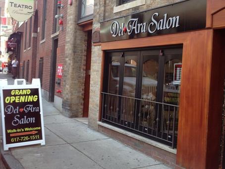 Del Ara Salon, in Boston's North End, Celebrates its First Anniversary