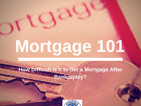 Mortgage FAQ: How Difficult is It to Get a Mortgage After Bankruptcy?