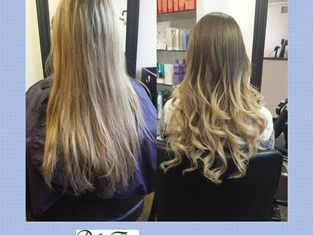Before & after ombré by Shaida