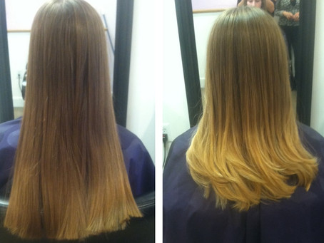 Ombre, Before and After