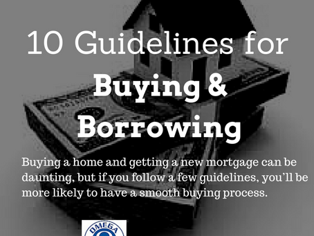 10 Guidelines for Buying and Borrowing