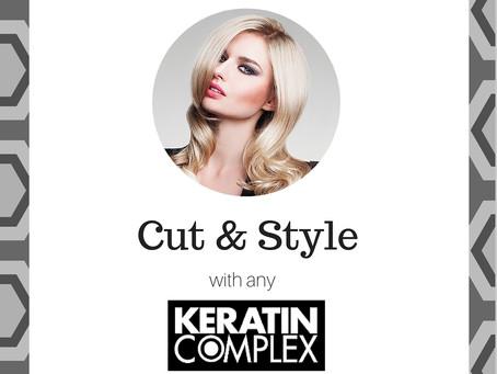 Special Offer: Keratin Treatment