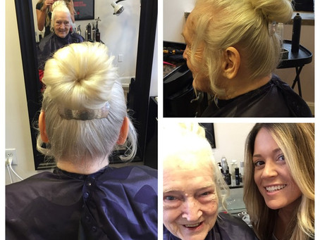 An Up-Do with a Special Twist