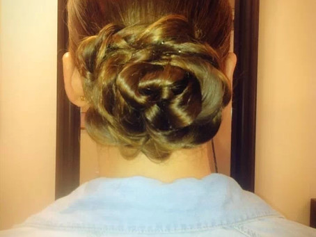A Fabulous Up-Do That's Perfect for Any Special Occasion