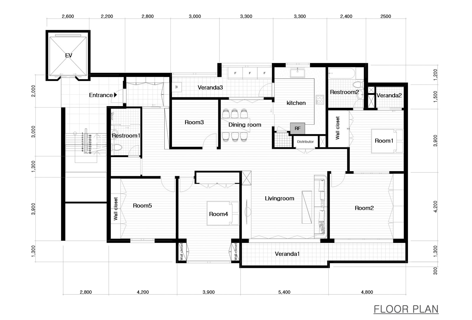 #! on 3d Floor Plan