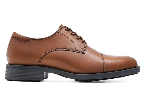 Gents' Brown Cap Toe Dress Shoe