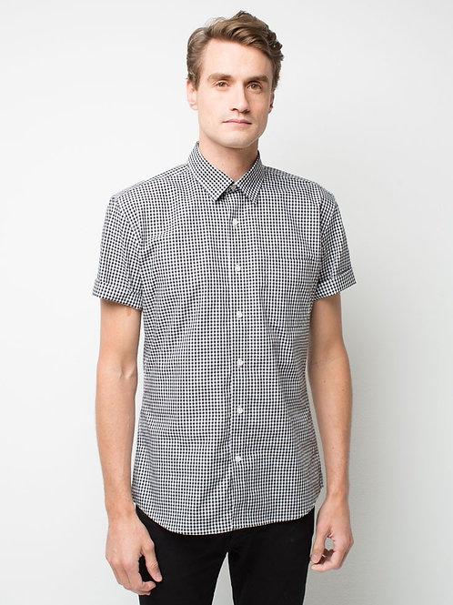 Gents' Max Check Short Sleeve Shirt