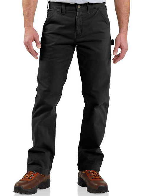 Washed Twill Relaxed Fit Work Pant