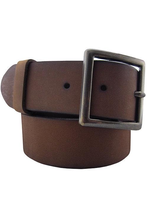 Rugged Leather Garrison Belt