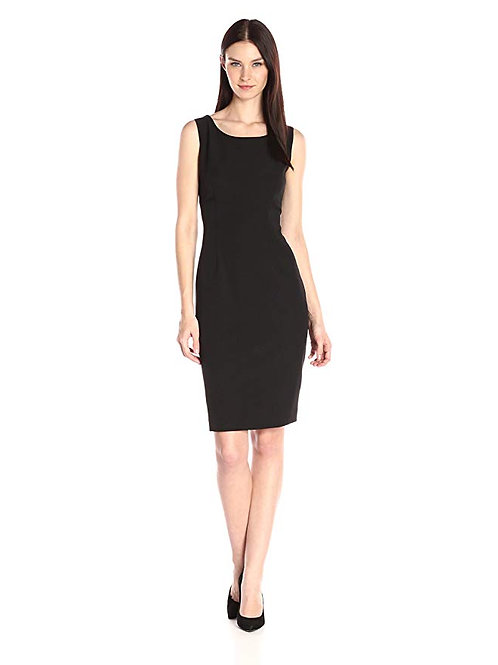 Ladies' Crepe Sheath Cocktail Dress