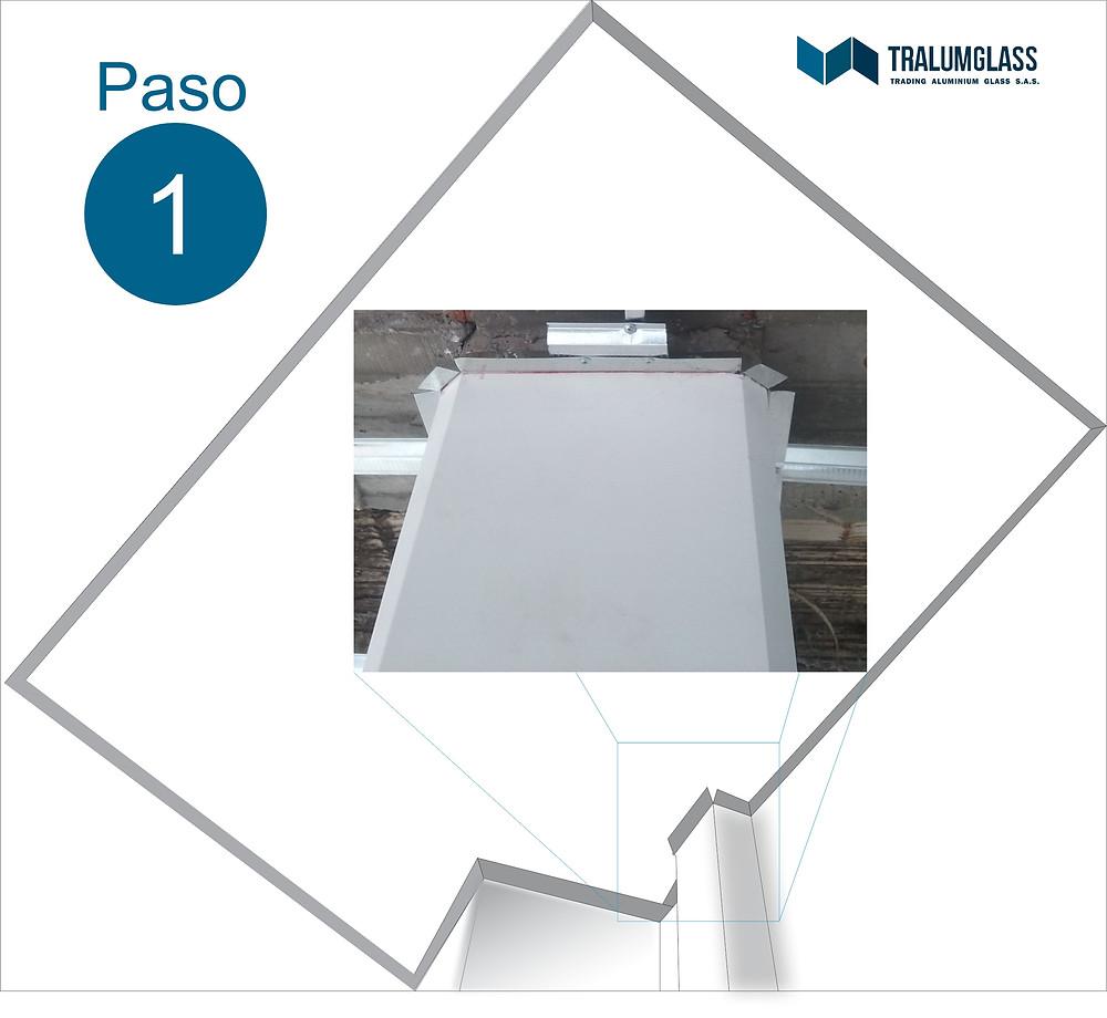 Instructivo de instalación de angulos para techo falso en PVC