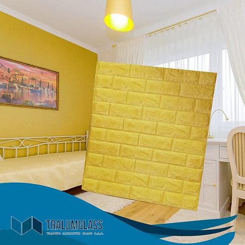 Muro Dorado Pared Adhesiva