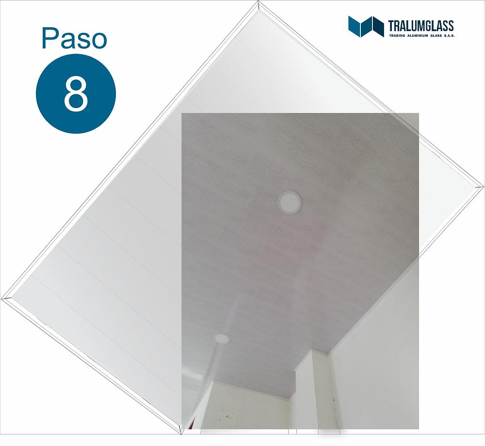 Guia de instalación de techo falso en PVC