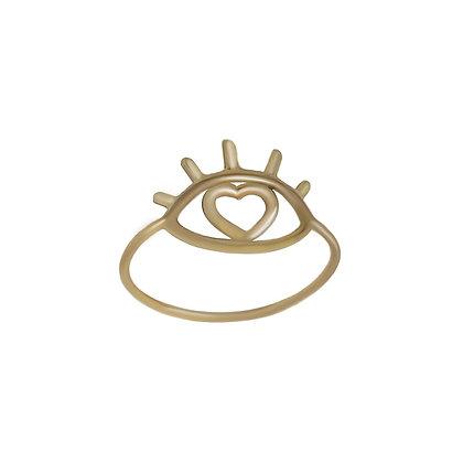 """""""Eye of love"""" ring"""