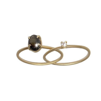 """""""Guiding stars"""" inseparable ring"""