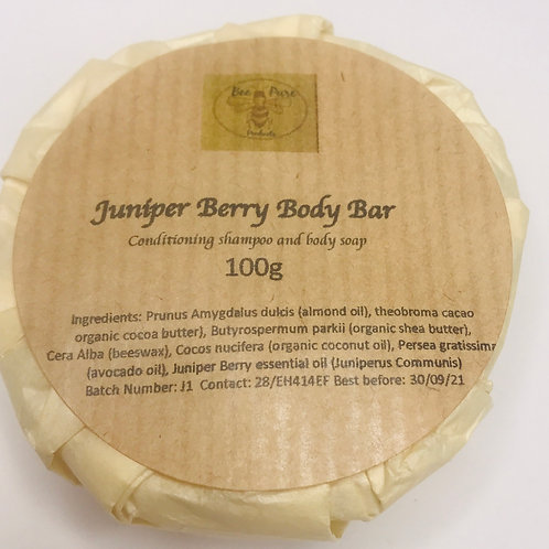 Juniper Berry Body Bar