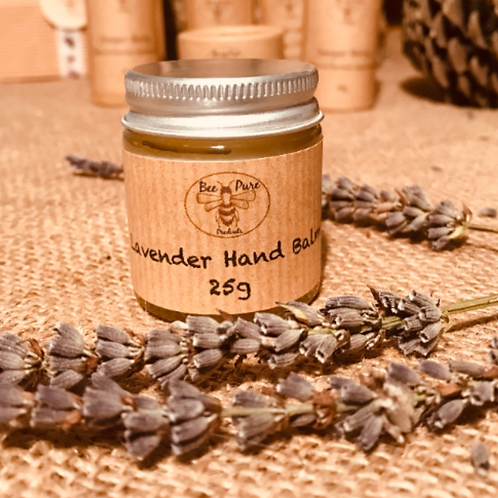 Lavender hand balm- dry skin rescue, perfect for gardeners