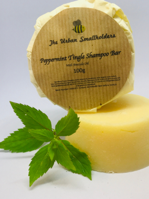 Peppermint Tingle Conditioning Shampoo Bar