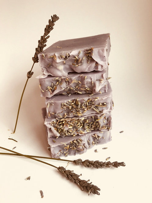 Lavender Flower Beeswax Soap