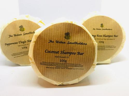 Coconut Natural Conditioning Shampoo Bar: natural shampoo bar, cruelty-free