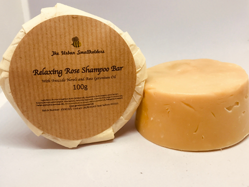Relaxing Rose Conditioning Shampoo Bar