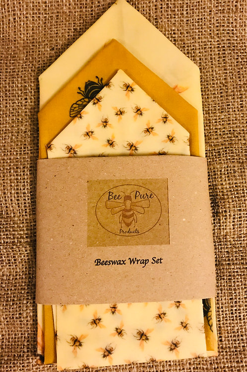 Bees Wax Wrap Set